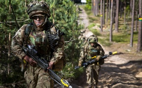 Картинка оружие, солдаты, Royal Gurkha Rifles