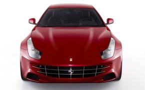 Картинка красный, Авто, Ferrari FF