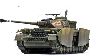 Картинка игрушка, танк, немецкий, средний, Panzerkampfwagen IV, моделька, периода, Второй мировой войны