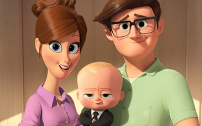 Обои HD, sugoi, Jimmy Kimmel, comedy, Boss Baby, cute, kawaii, baby, DreamWorks Animation, 20th Century Fox, ...