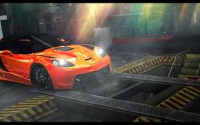 Картинка Photoshop, Need for speed world, Maclaren Mp-4