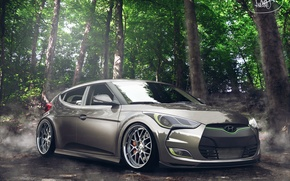 Обои hyundai, veloster, tuning, by asoares