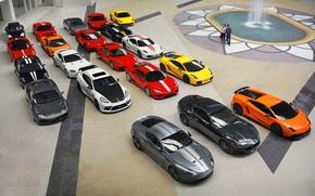 Картинка gallardo, lamborghini, maserati, porsche, aston martin, f430, panamera, 458 italia, supercars, Суперкары, scuderia, ferrarii