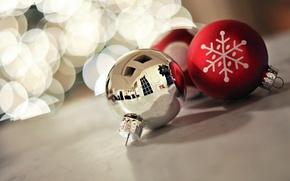 Картинка макро, праздник, игрушки