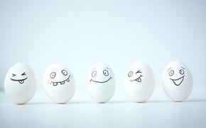 Картинка улыбка, яйца, smile, рожица, face, eggs, funny