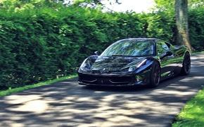 Картинка дорога, Ferrari, Ferrari 458 Italia, Sports car