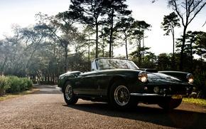 Картинка Ferrari, феррари, Cabriolet, 400, 1961, SWB, Superamerica