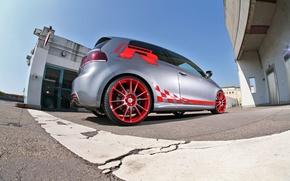 Обои Sport-Wheels, VW Golf, rear