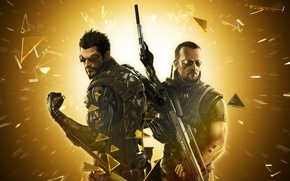 Картинка Deus Ex, Adam Jensen, Eidos Interactive, Ben Saxon