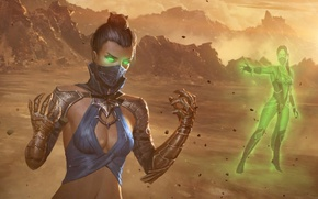 Картинка Mortal Kombat, китана, kitana
