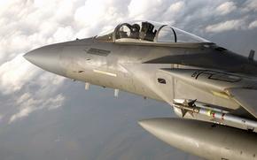 Картинка высота, истребитель, пилот