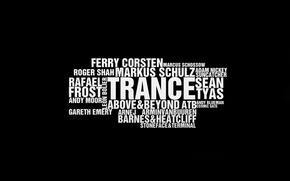 Обои музыка, обои, минимализм, транс, wallpapers, Top Trance Djs