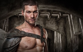 Обои Spartacus, Gladiator, Blood and Sand, Andy Whitfield