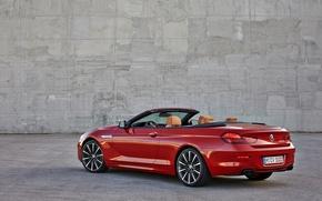 Картинка BMW, БМВ, Convertible, Задок, 650i, 2015