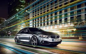 Картинка BMW, Дом, Серый, Асфальт, БМВ, 4 Series