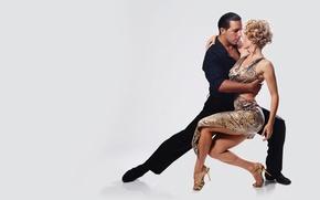 Картинка tango, woman, rhythm, man, dancing