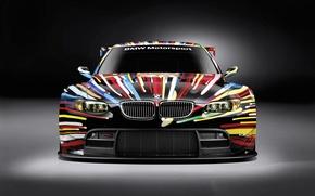 Обои BMW, GT2, розрисованая, передок
