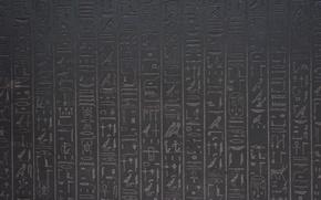 Обои Египетские, стенка, иероглифы