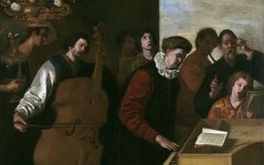 Картинка музыка, картина, инструменты, Концерт, Аньелло Фальконе, артисты