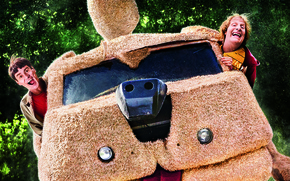 Картинка car, Jim Carrey, Men, Wallpaper, Movie, Film, 2014, Funny, Adventure, Comedy, Universal Pictures, Lloyd Christmas, …