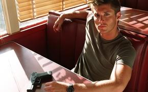 Картинка актёр, Jensen Ackles, Сверхъестественное, Дин Винчестер