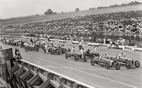 Картинка ретро, гонки, США, автоспорт, 1925-й год