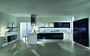 Картинка дизайн, дом, стиль, вилла, интерьер, кухня