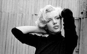 Картинка актриса, блондинка, певица, родинка, нуар, Marilyn Monroe