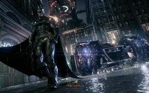 Картинка Hero, Batman, Batmobile, Rocksteady, Bruce Wayne, Video Game, Warner Bros. Interactive Entertainment, Rocksteady Studios, Super ...