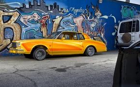 Картинка lowrider, orange, mexican, hydraulics, chevrolet caprice