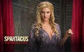 Обои спартак, Илития, Spartacus, Вива Бьянка