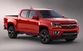 Обои 2015, chevrolet, colorado, double cab, шевроле
