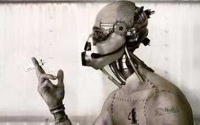 Обои фантастика, робот, киборг