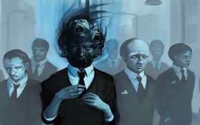Картинка люди, лица, костюм