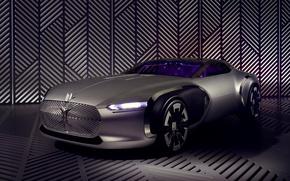 Обои Renault, рено, Concept, Corbusier, концепт