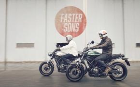 Картинка Yamaha, moto, style, sportclassic, XSR