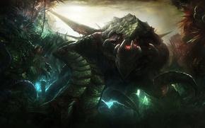 Картинка StarCraft, Powerful, Zerg, Primal Zerg, Zurvan, The Ancient One