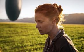 Обои поле, кадр, инопланетяне, боке, Amy Adams, Эми Адамс, Прибытие, Arrival