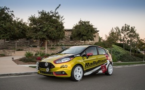 Картинка Ford, Street, Fiesta, Sport, Road, RallyWays