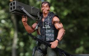 Картинка игрушка, Commando, Арнольд Шварценеггер, амуниция