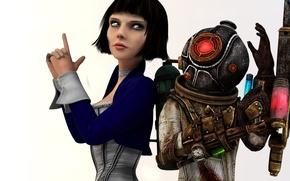 Картинка BioShock, Elizabeth, Big Sister, Eleanor Lamb