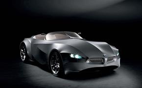 Обои черный, concept, BMW, GINA