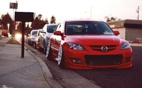 Картинка Mazda, jdm, stance, Low, BellyScrapers, speed3