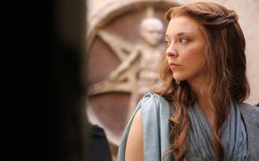 Обои Игра престолов, Margaery Tyrell, сериал, шатенка, Game of Thrones, фэнтези, Natalie Dormer, Натали Дормер