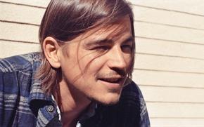 Картинка лицо, улыбка, фото, обои, актер, мужчина, Josh Hartnett