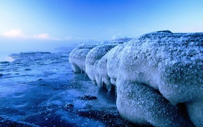 Картинка холод, лед, вода, природа