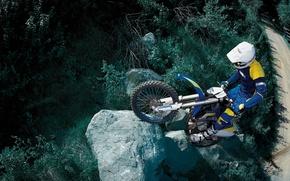 Картинка горы, соревнования, спорт, мотоцикл
