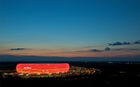 Картинка стадион, munich, Allianz Arena, FC Bayern Munich
