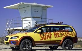 Обои машины, volvo, xc70, surf