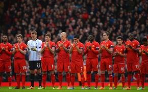Картинка Спорт, Футбол, forward, Football, Ливерпуль, Джерард, Anfield, Steven Gerrard, YNWA, Уругвай, Сиссоко, Шкртел, Luis Suarez, ...